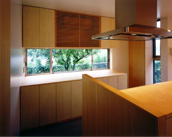 片瀬山の家 キッチン