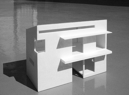 普通の家4 模型写真