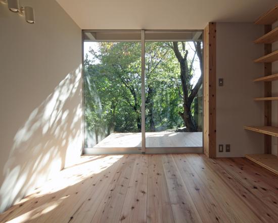 日野の家 板間(床座)