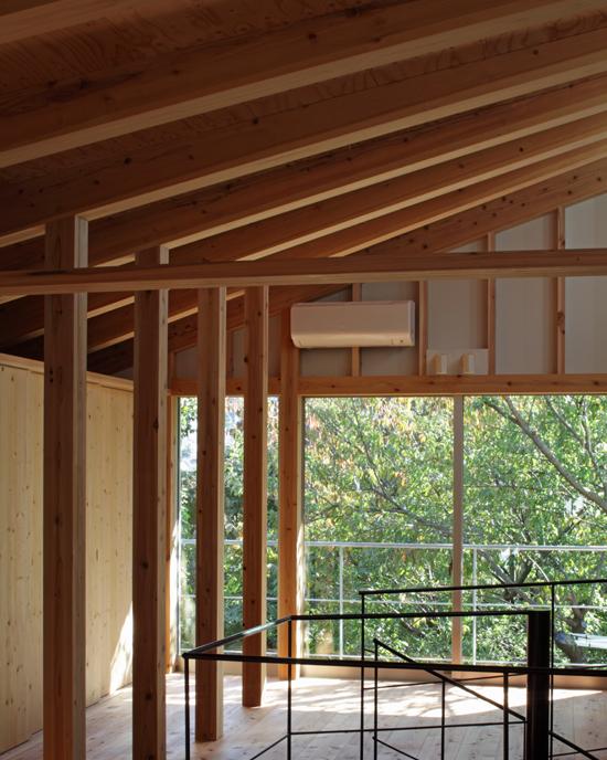 日野の家 内部空間