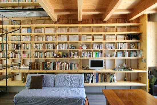 日野の家 1階板間(椅子座)