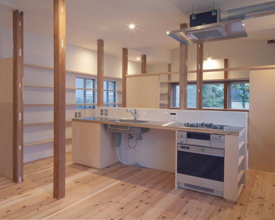 矢来の家 キッチン