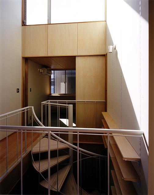 8坪ハウス 2階(吹抜け上部)