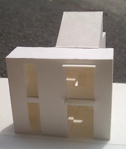 8坪ハウス 模型写真
