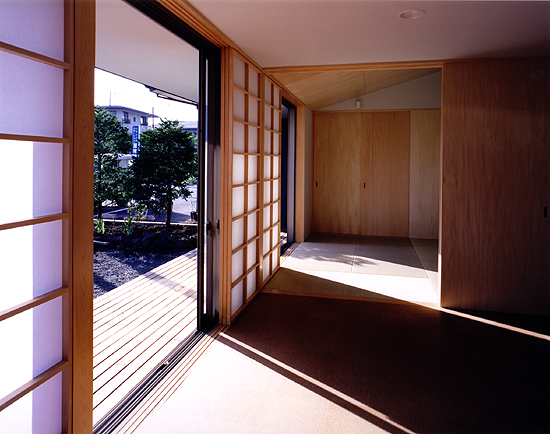 富士吉田の家 居間・和室・広縁