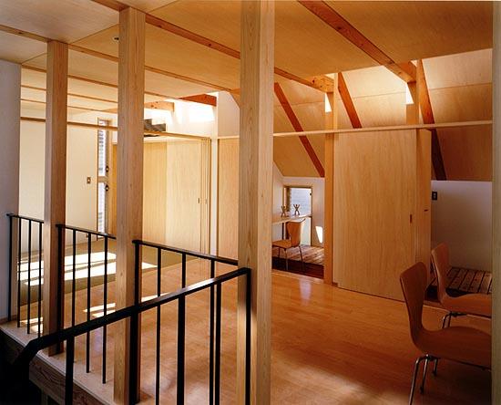 普通の家3 2階居間