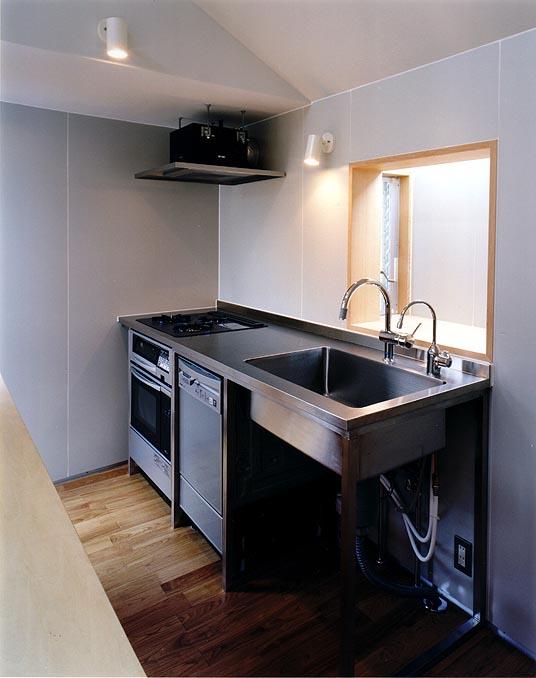 上石神井の住宅 キッチン