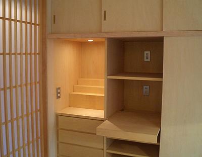 OAP キッチン横の収納家具(after)