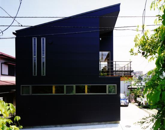 普通の家-3 道路側外観