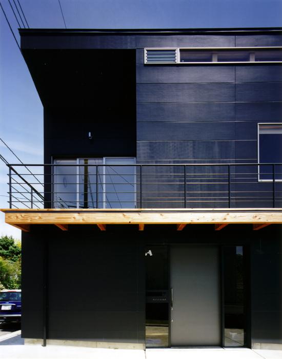 普通の家-3 南側外観(部分)