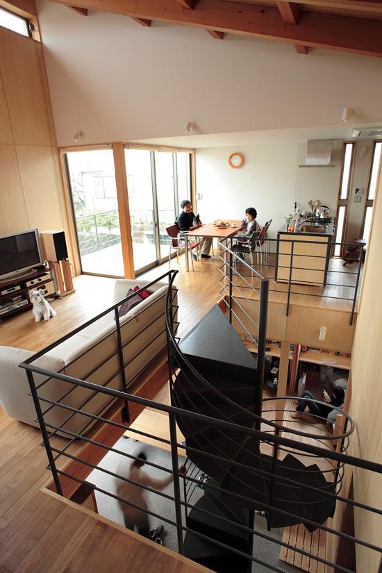 普通の家-3 空間のつながり