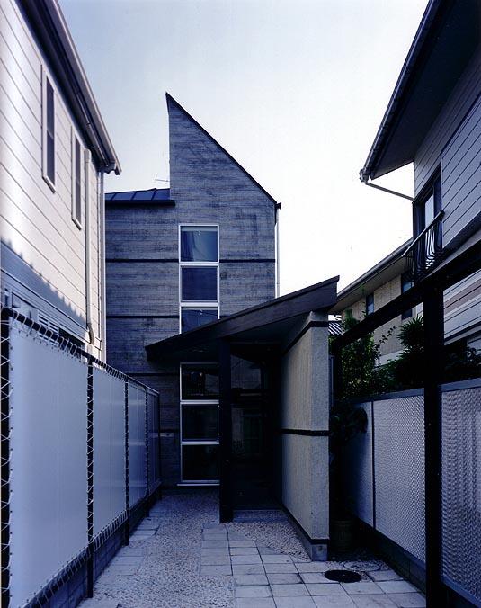 梅ヶ丘の家 外観写真
