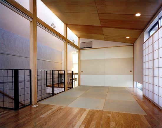 梅ヶ丘の家 2階居間