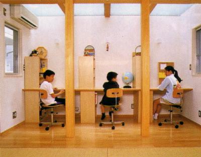梅ヶ丘の家 子供室