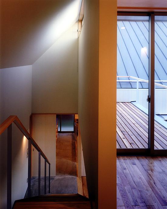 CH7 階段吹抜けと2階ホール