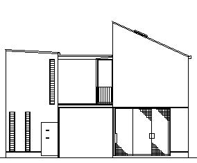 PARALLEL HOUSE 立面図