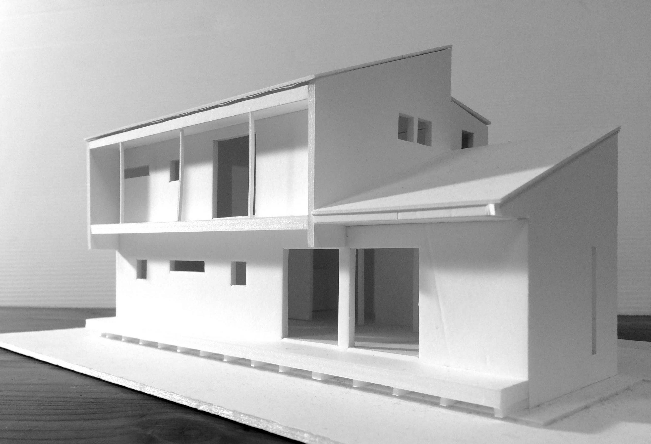 若葉台の家模型02