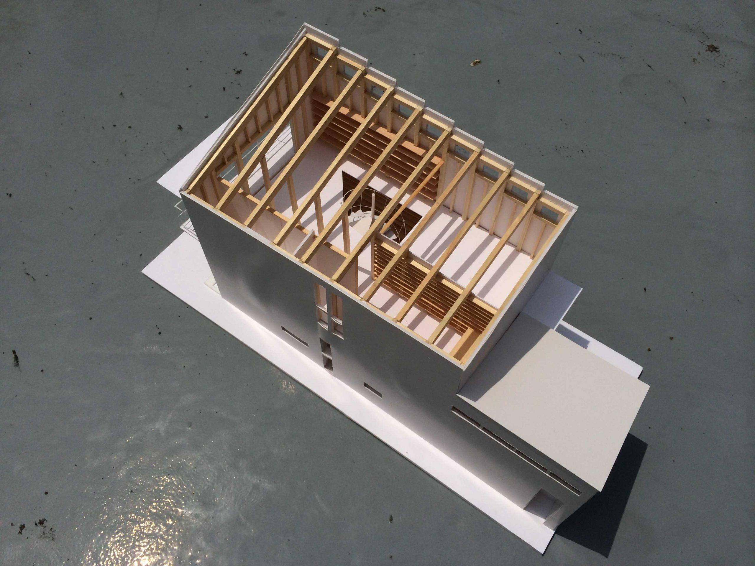 日野の家模型01