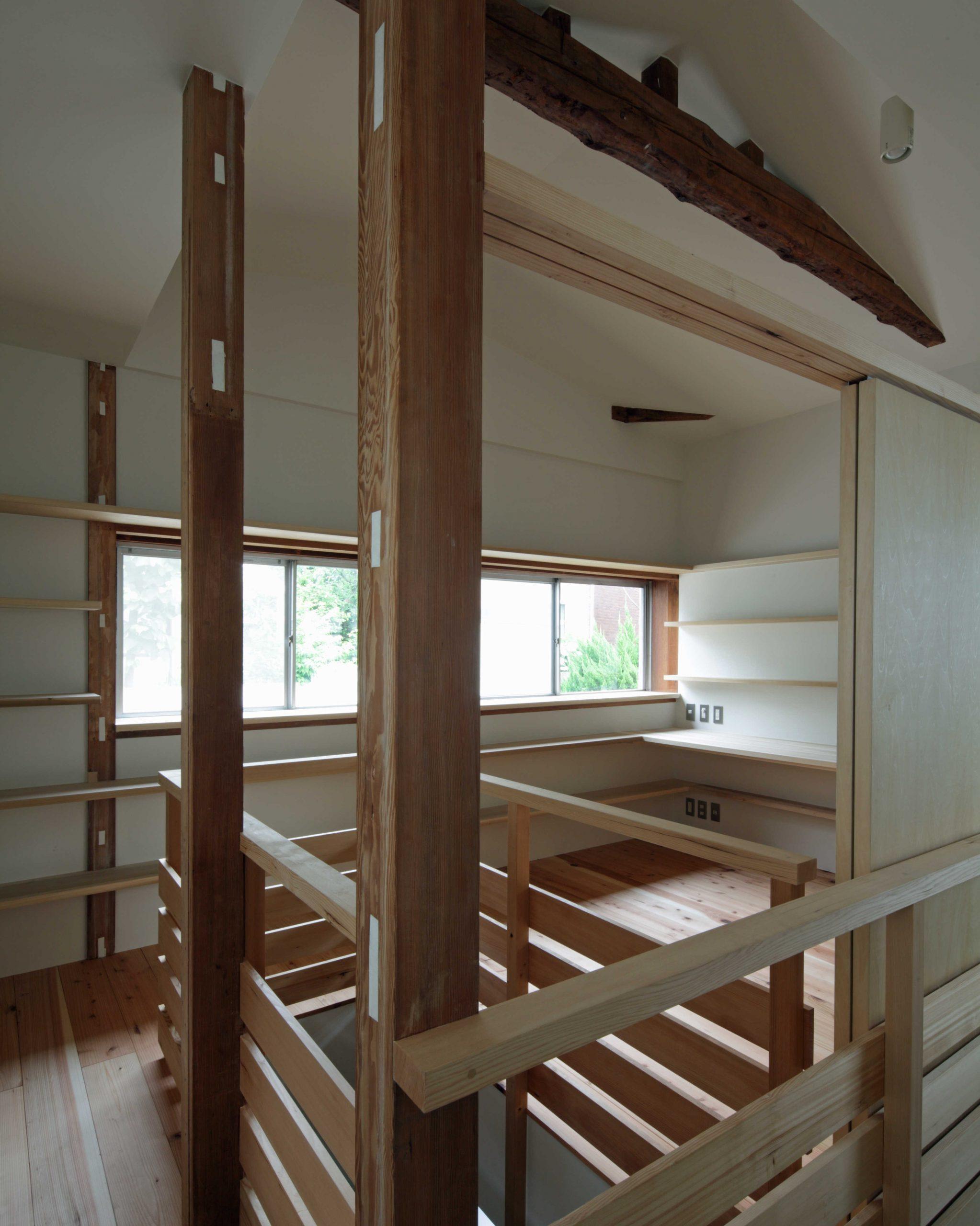 矢来の家・2階01