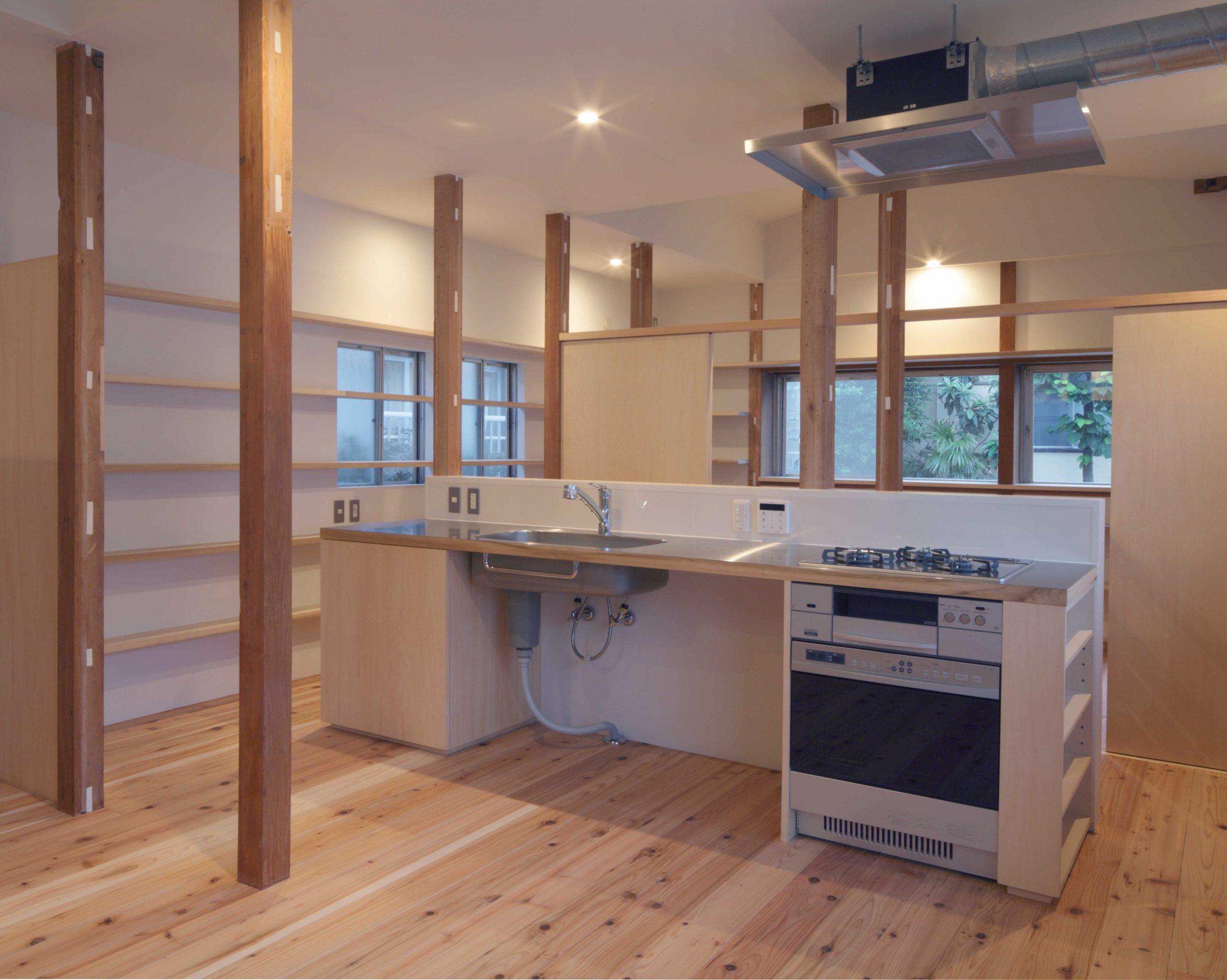 矢来の家・キッチン