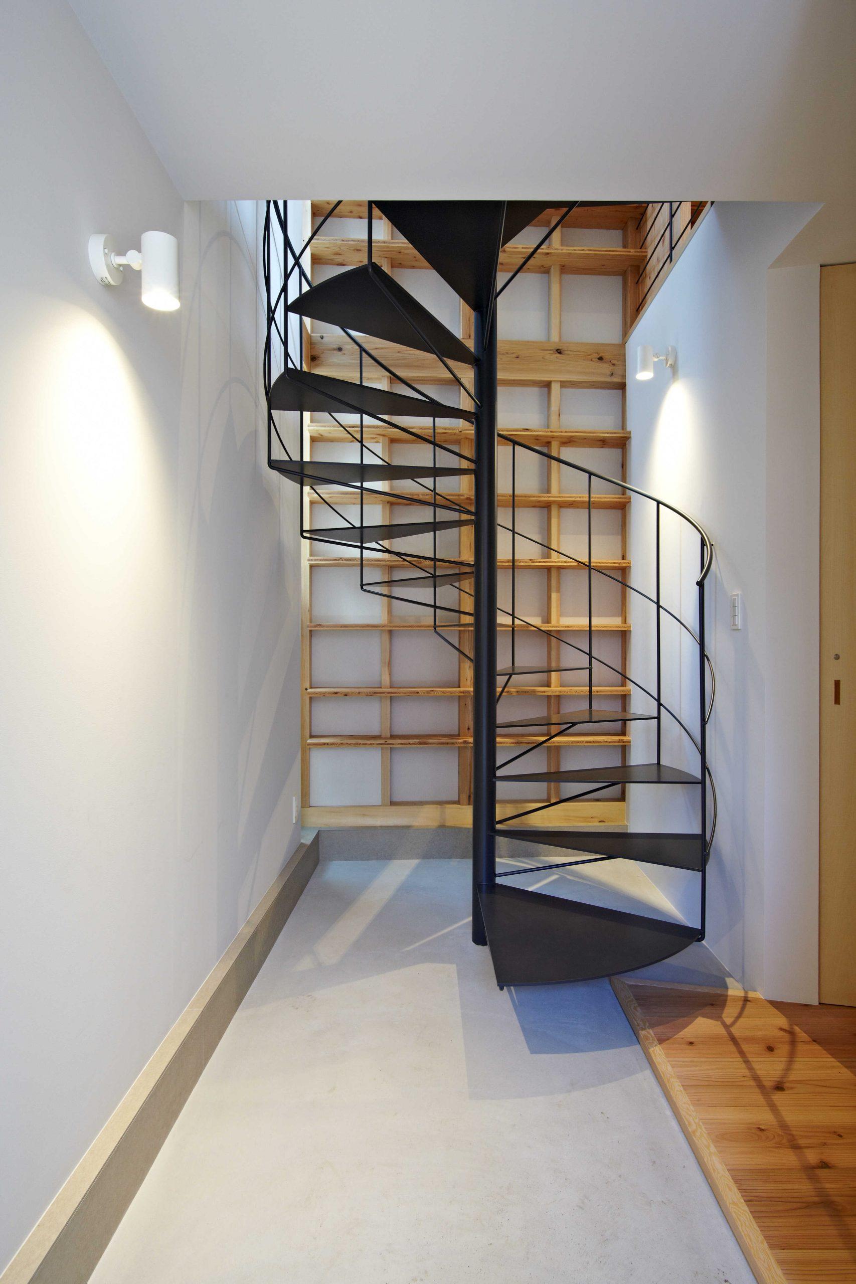 土間と階段