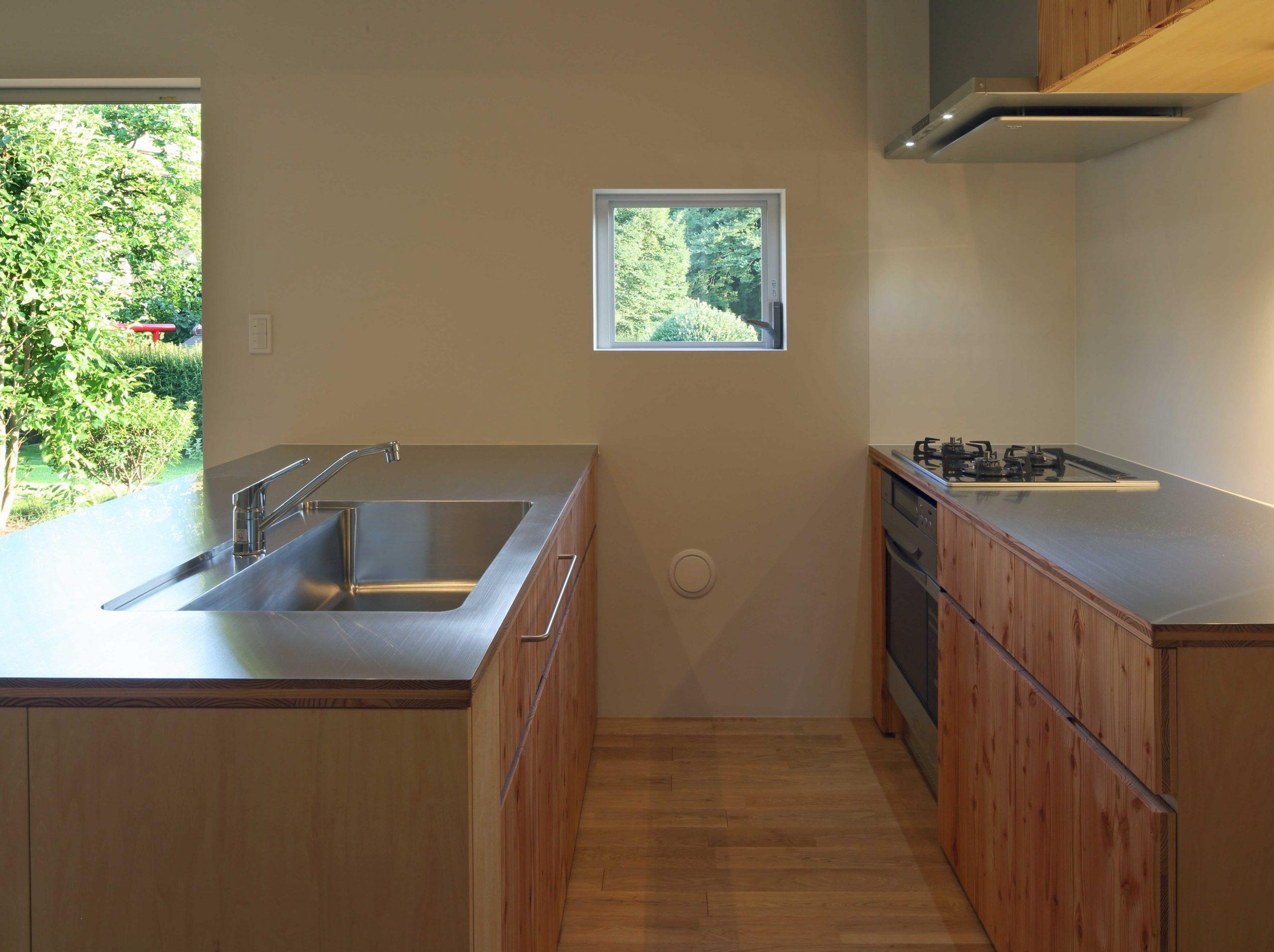 若葉台の家キッチン03