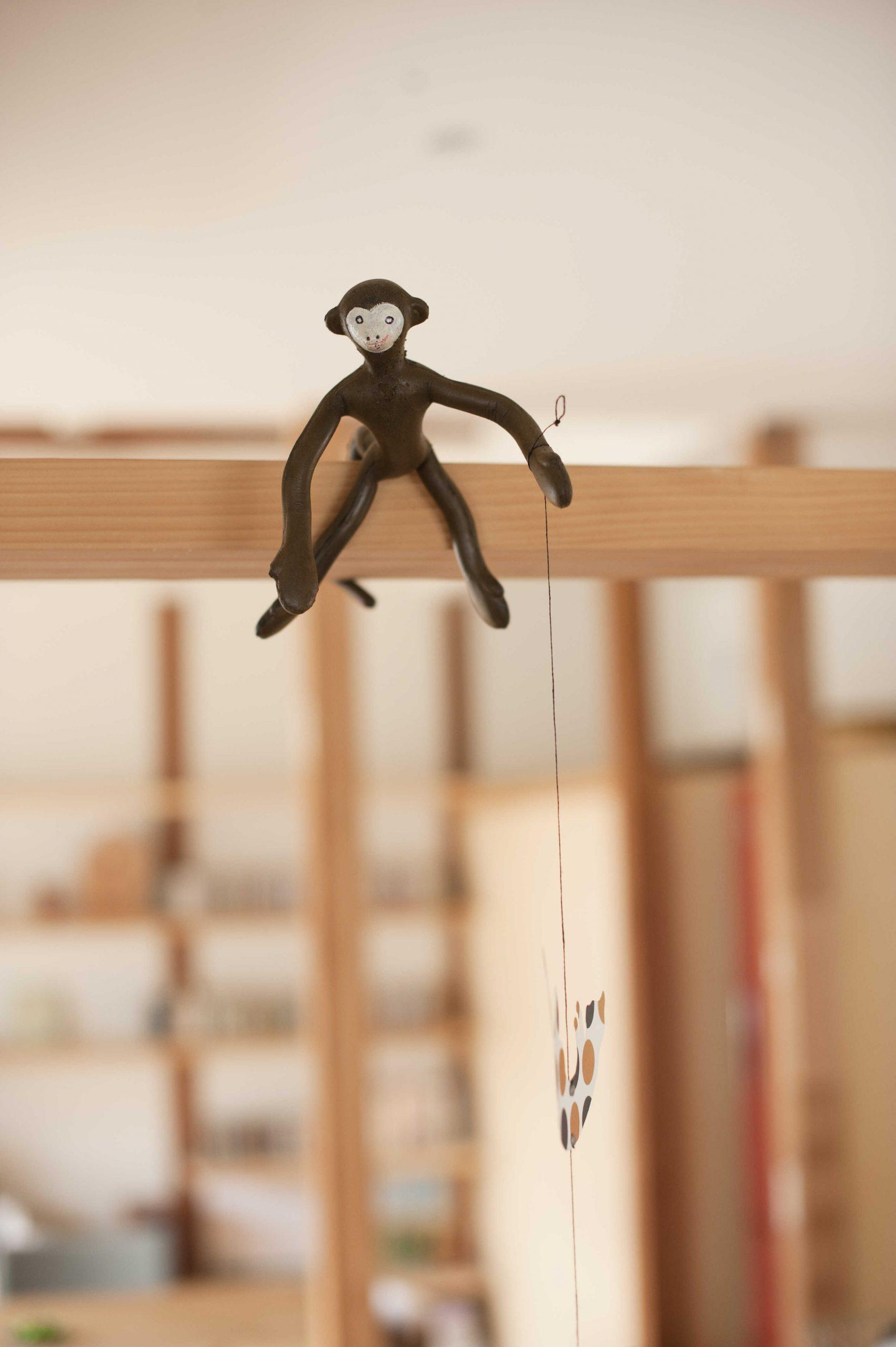 矢来の家・猿